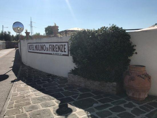 Hotel Mulino di Firenze: Outside area