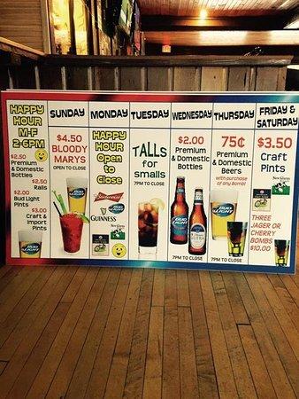 Jackson, WI: Drink Specials