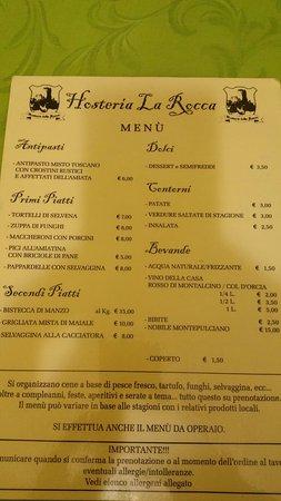 Castell'Azzara, Italië: Hosteria della Rocca