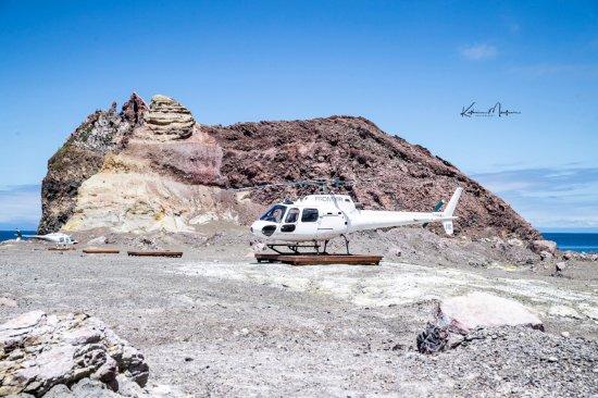 Whakatane, New Zealand: Hubschrauber