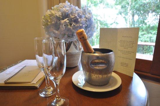 Kuriuwa Hotel: Cortesia pelo nosso aniversário de casamento