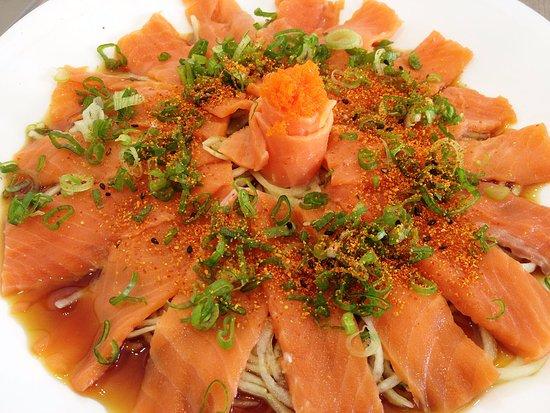 Guadalajara Metropolitan Area, Messico: Sashimi de salmòn