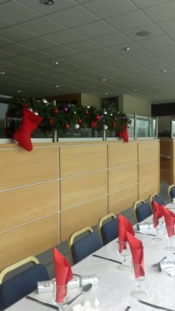 All ready to go for the festive season and our very busy party night's here at clonmel greyhound