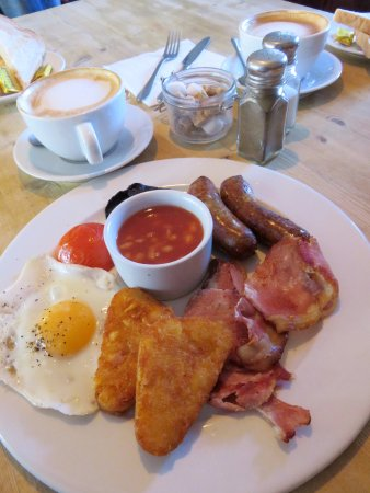 The English Breakfast is always great at The Green Room - Brackley (26/Nov/17).