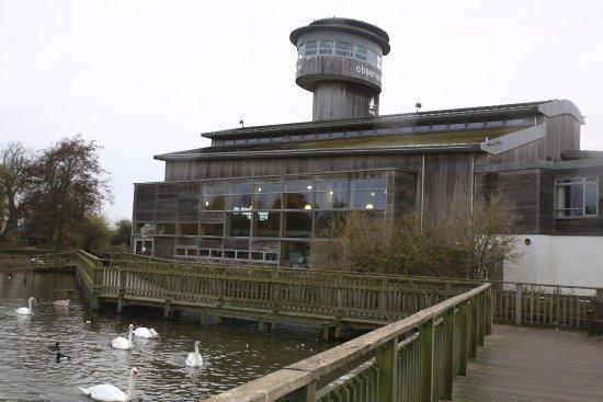 Dursley, UK: Observatory and restaurant
