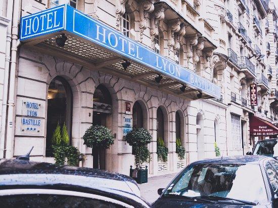 Hotel lyon bastille paris fransa otel yorumlar ve for Bastille hotel