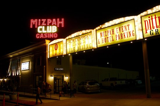 Tonopah, NV: Our lights are always on for you! Located adjacent to the historic Mizpah Hotel!