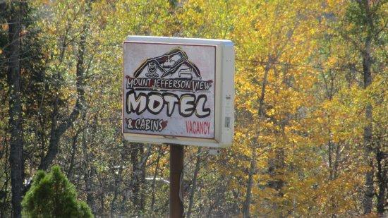 Randolph, NH: signage