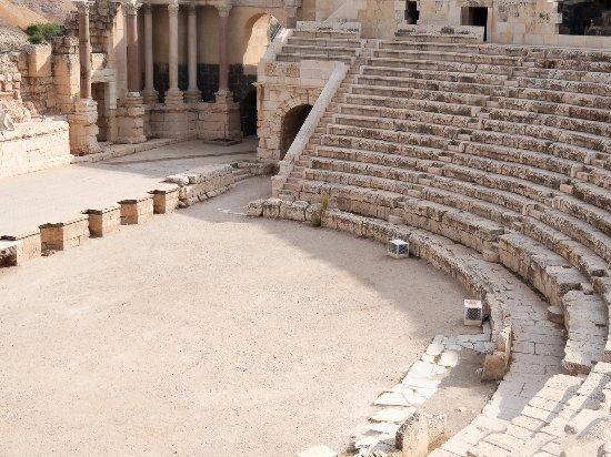 Beit She'an, Israel: Vista parcial do auditório