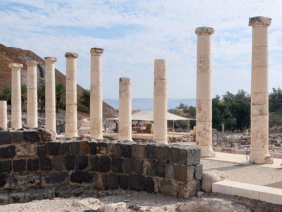 Beit She'an, Israel: Colunas que ladeiam a rua principal