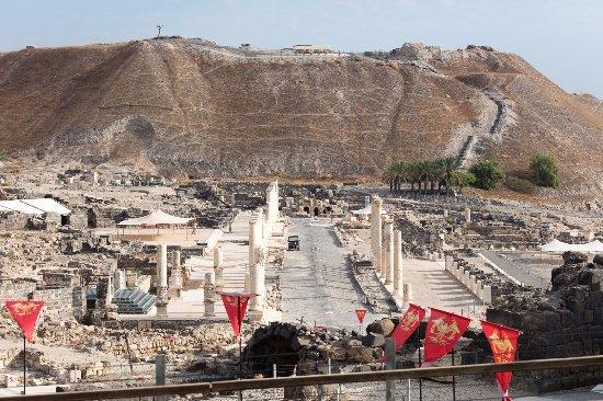 Beit She'an, Israel: Vista geral