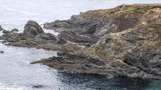 Mendocino Headlands State Park: A rocky point
