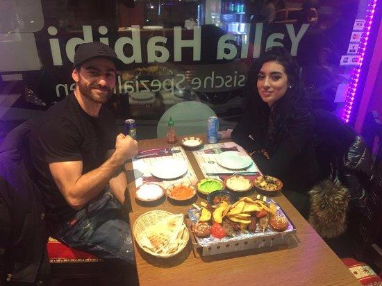 Yalla Habibi: das Essen war einfach nur herrlich