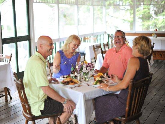 Elkhart Lake, WI: Stop-Inn Tavern Sun Porch