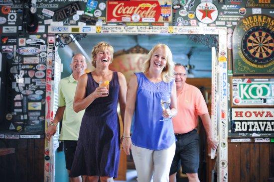 Elkhart Lake, WI: Fun in the Stop-Inn Tavern