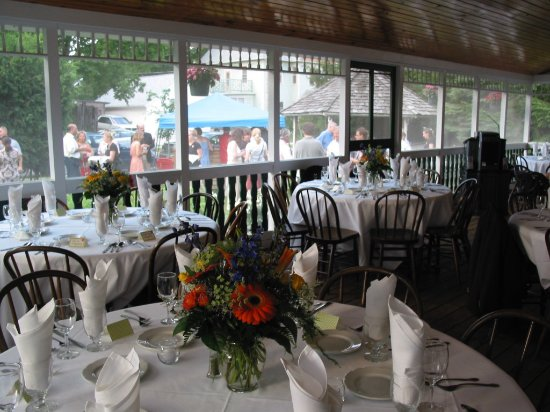 Elkhart Lake, WI: Tavern Sun Porch Event