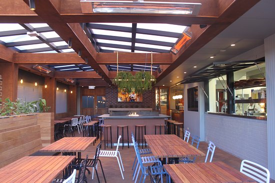 Strathfield South, Australia: Outdoor Dining Area