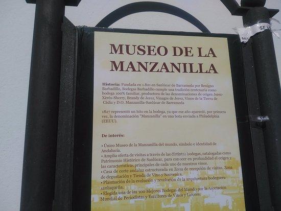 Sanlucar de Barrameda, Spagna: Anuncio exterior