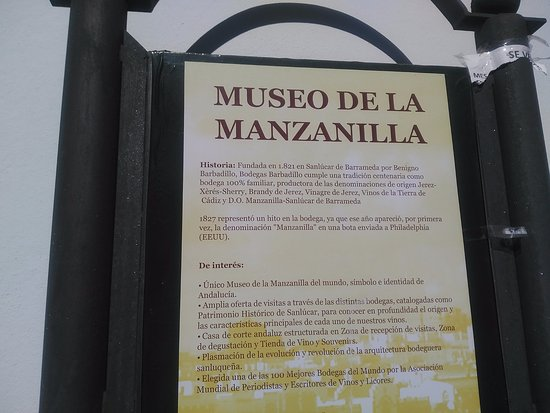 Museo De La Manzanilla Barbadillo