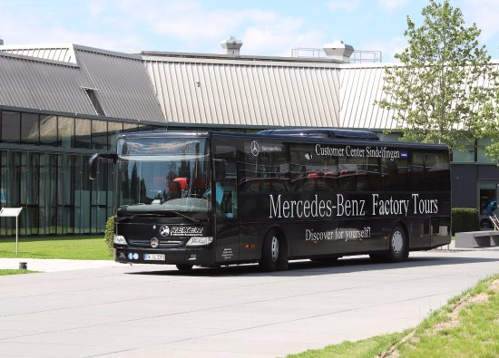 Great experience visiting the plant factory even you are for Mercedes benz plant locations