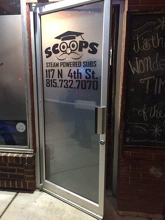Oregon, IL: The front door