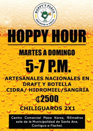 Santa Ana, Costa Rica: Hoppy Hour!!!