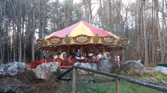 Putney, VT: Great Carousel from Coney Island