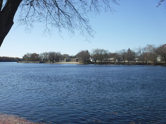 Lowell, Μασαχουσέτη: Scenic view of Merrimack River.