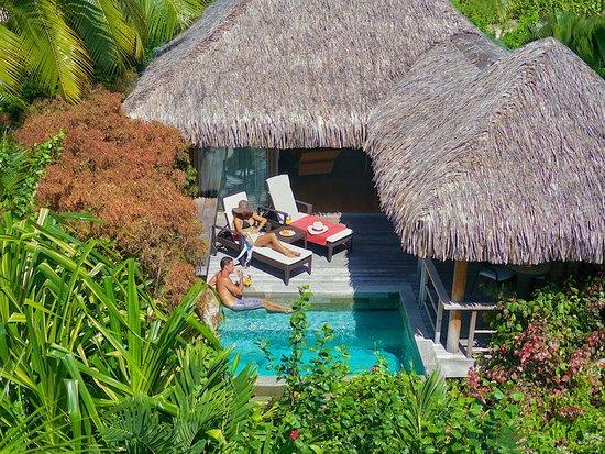 InterContinental Moorea Resort & Spa: Junior Suite Garden Pool Bungalows