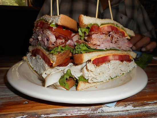 Hernando, FL: The club sandwich!