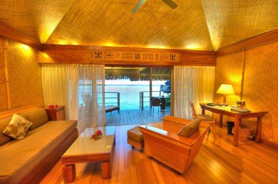 InterContinental Moorea Resort & Spa: Junior Suite Overwater Bungalow