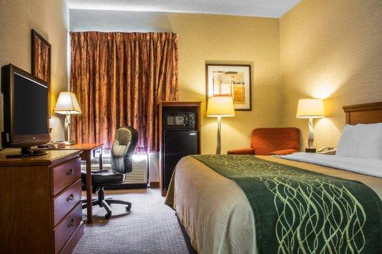 Mansfield, Pensilvania: King Room