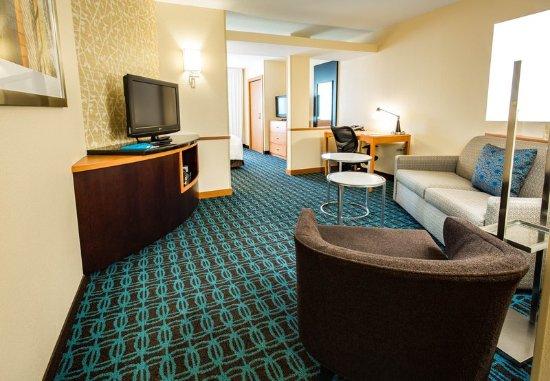 Exeter, Nueva Hampshire: Suite - Sitting Area