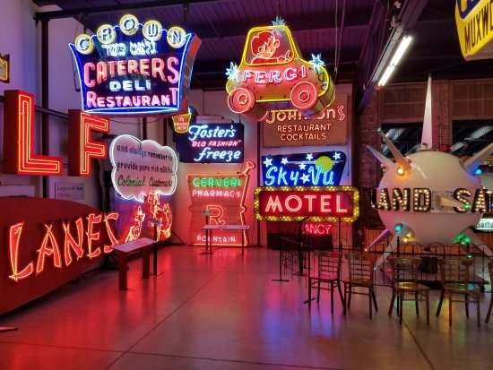 American Sign Museum Cool Neon Signs And Some Of Them Move