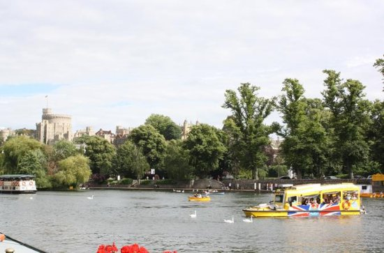Windsor Duck Tour: bus- en boottocht