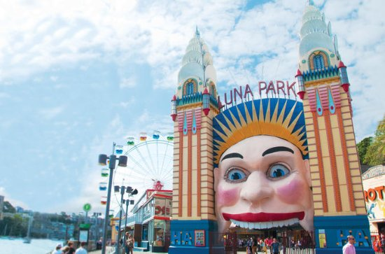 Full-day Luna Park Admission Ticket...