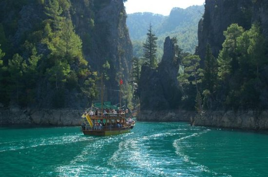 Antalya Green Canyon Full-Day Boat...