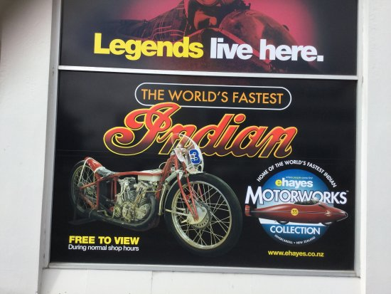 E Hayes and Sons - The World's Fastest Indian: photo0.jpg