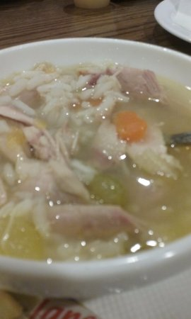 Harrisburg, Karolina Północna: Chicken and rice soup