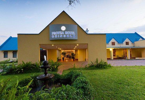 Chingola, Zambia: Entrance