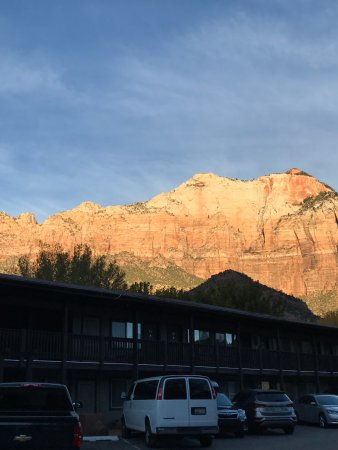 Just a little part of the view from the Historic Pioneer Lodge!