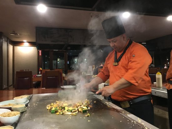 4d2ba9ceeeaa Chef at work - Picture of Shogun Kobe