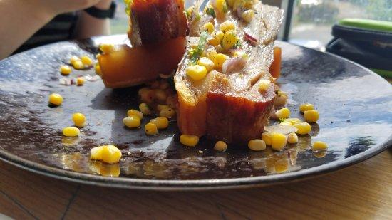 Cambridge, Australia: Pork belly