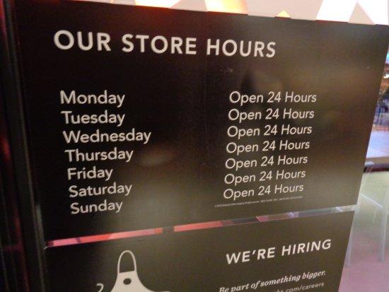 Hours Picture Of Starbucks Las Vegas Tripadvisor