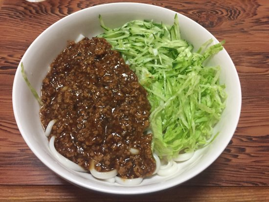 Shimokawa-cho, Japan: ジャージャー麺