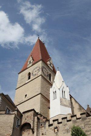 Weissenkirchen, Austria: Вид на церковь