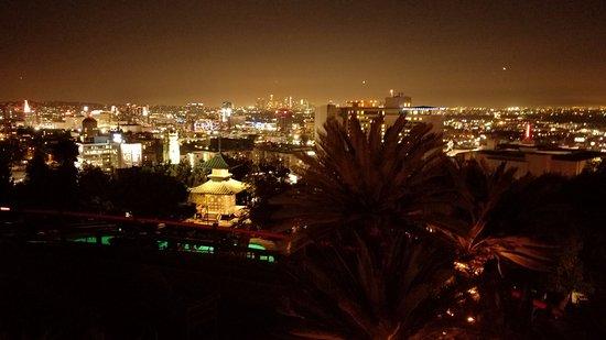 Yamashiro: Night view Hollywood