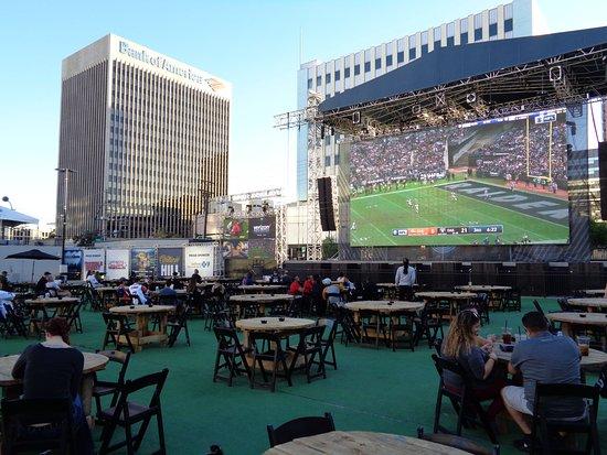 Nfl Viewing Parties Picture Of Downtown Las Vegas Event Center