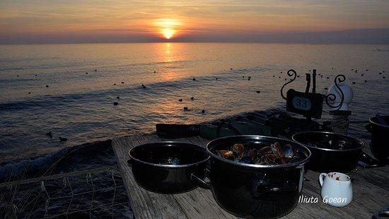 Kavarna, Βουλγαρία: Sunset on the terrace