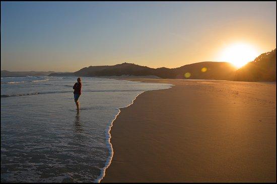 Port St Johns, Afrika Selatan: Sunset walk on the beach